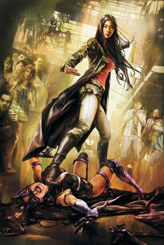 LADY SHIVA VS. LA CAZADORA
