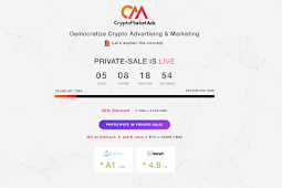 Crypto Market Ads - Decentralized democratic Crypto ads and Marketing Marketplace