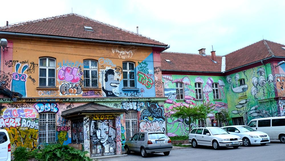 Metelkova in Ljubljana