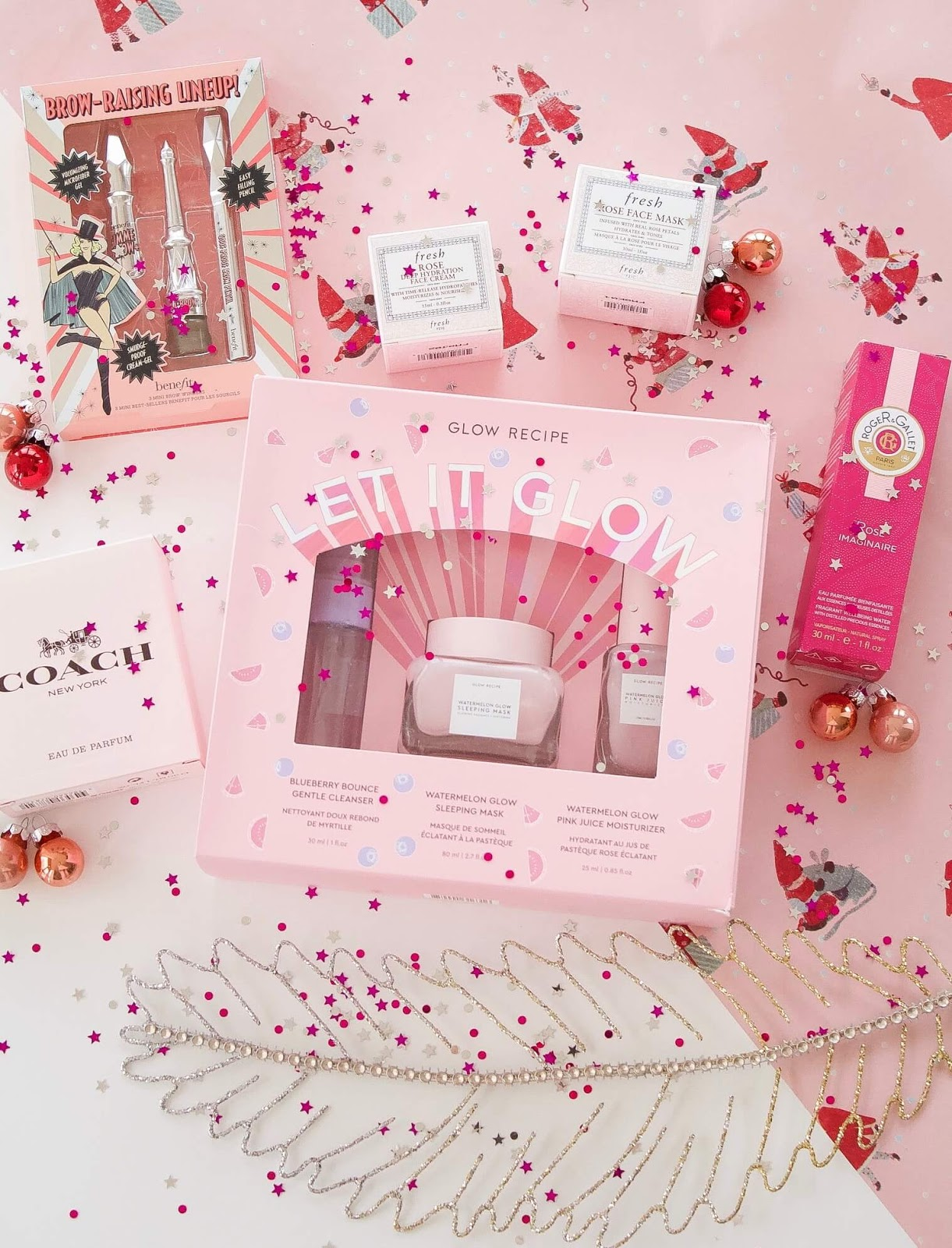Pink beauty gift guide