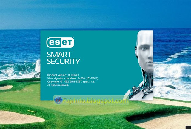 Review Antivirus Eset Smart Security Di Windows 10