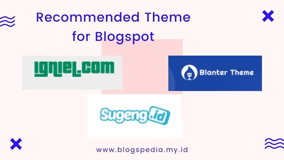 rekomendasi template untuk blogspot