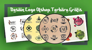 desain logo olshop banner sale keren