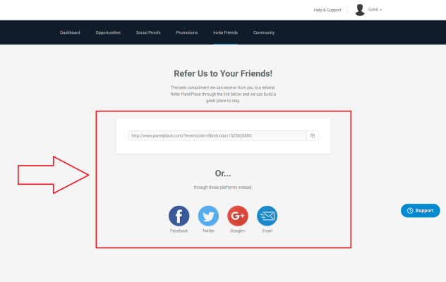 PanelPlace - Create an account step by step