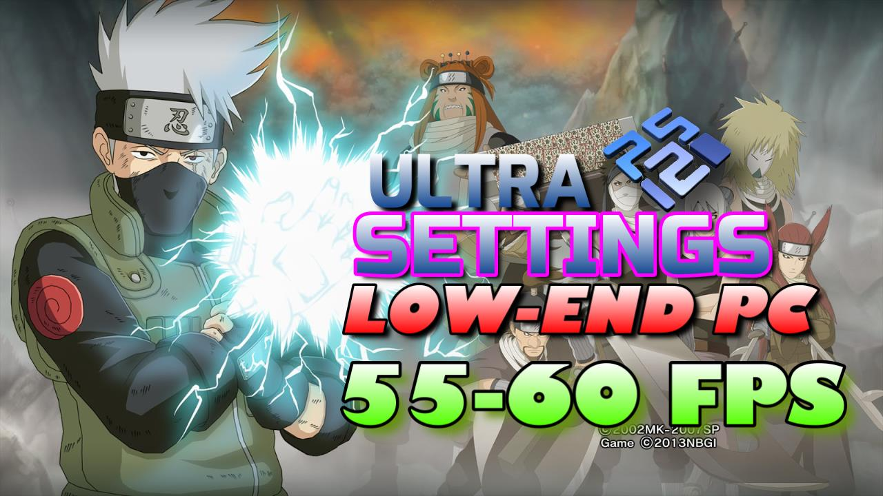 Best Settings for Naruto Shippuden Ultimate Ninja 5 PCSX2 (PS2) Low-End PC