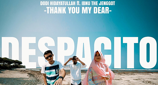 Lirik Lagu Thank You My Dear - Dodi Hidayatullah ft Ibnu The Jenggot