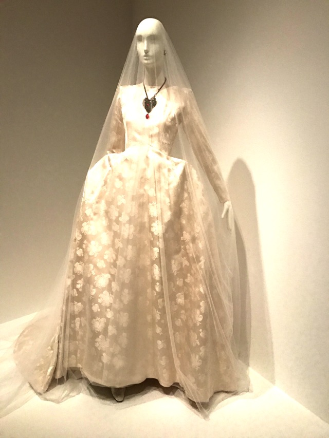 Yves st laurent exhibit in seattle the perfection of for Yves saint laurent wedding dress