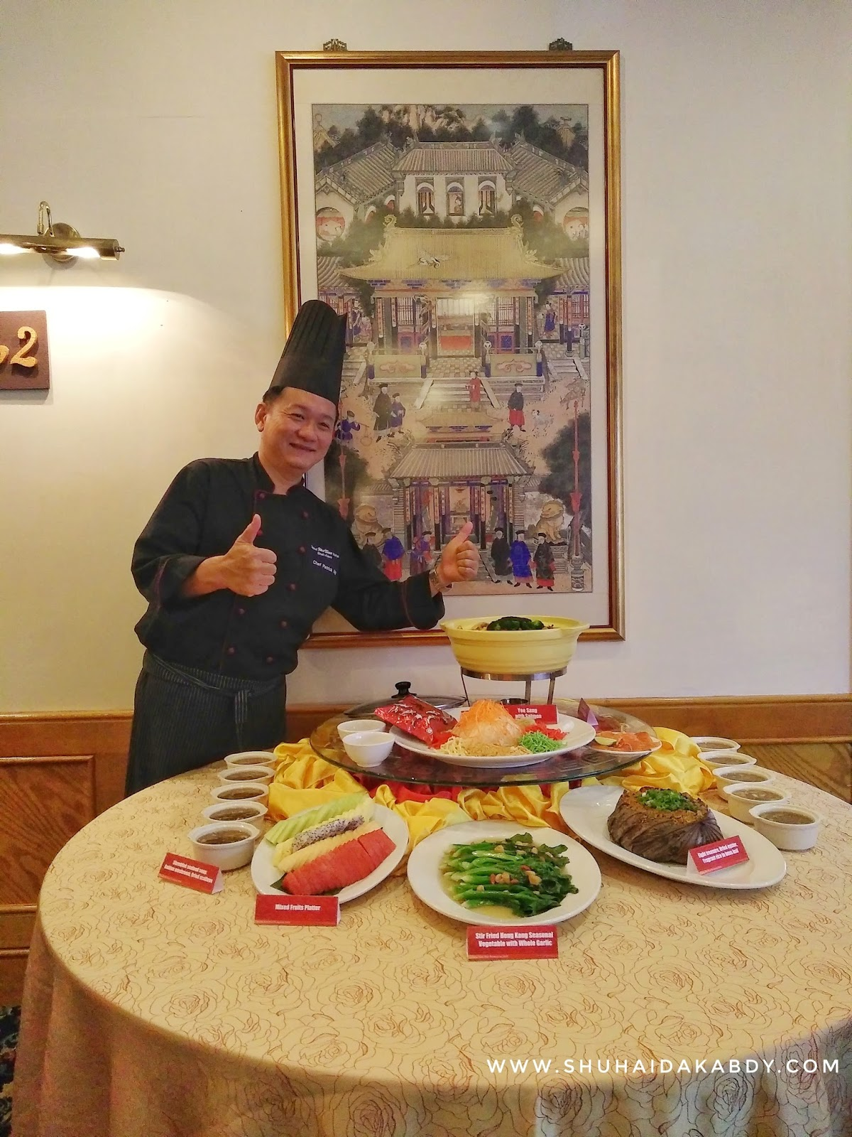 Menu Baru Chinese New Year 2018 di Hotel Grand BlueWave Shah Alam