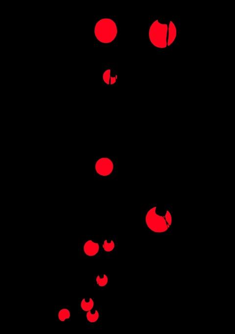 Beautiful Red dot iPhone Wallpaper Full HD [ Download ]