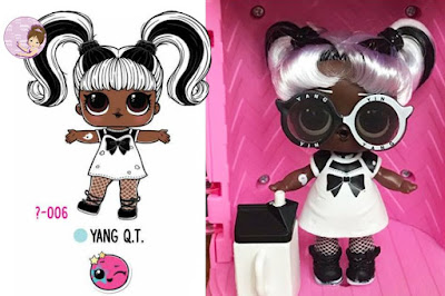 Yang Q.T. doll with real hair #Hairgoals