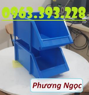 Kệ dụng cụ A8 đựng linh kiện, khay nhựa vát đầu A8, khay đựng ốc vít xếp chồng E400ebf7d7492f177658