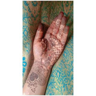 bridal mehandi design 2021