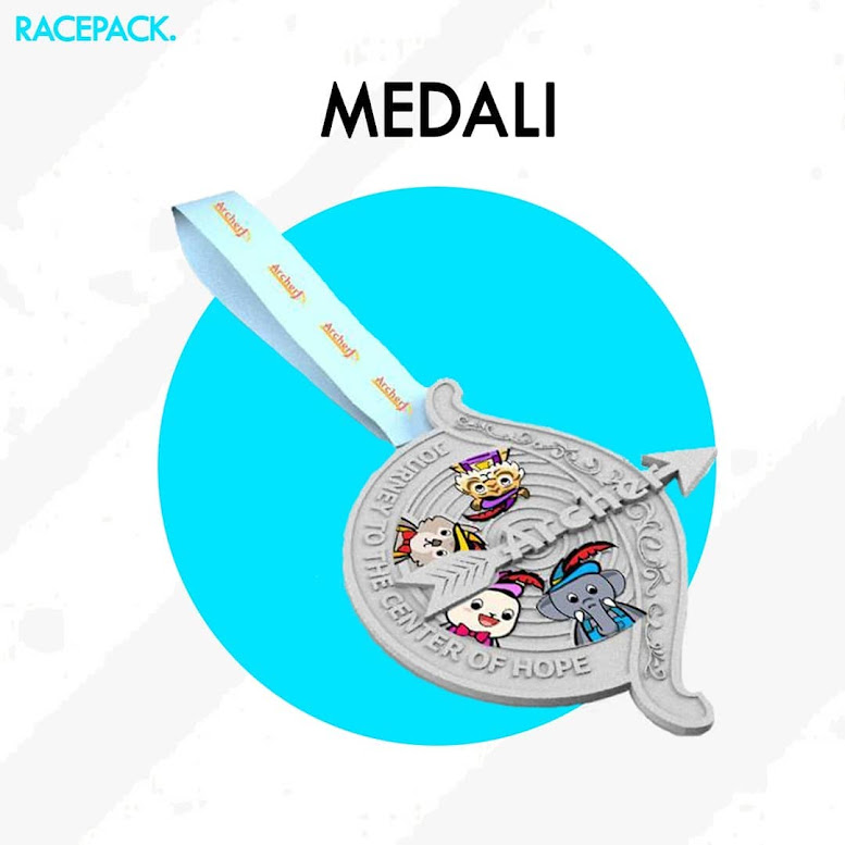Medali Archer Run 2019