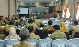 Pimpin Rakor Bersama Jajaran OPD Lingkup Pemkab Bima, Bupati Bima Harap Tingkatkan Koordinasi