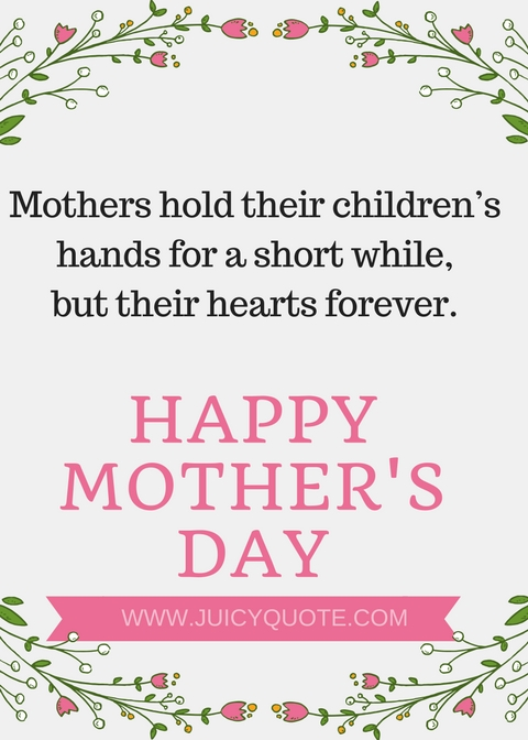 Touching happy mothers day quotesgreetings and wishes juicy quote inspiring mother quotes m4hsunfo