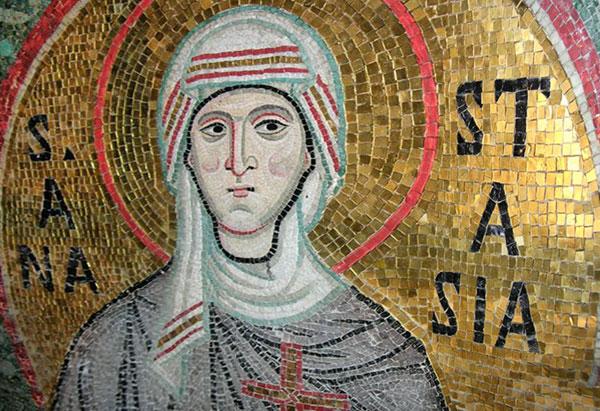 Viaţa Sfintei Marei Mucenițe Anastasia Romana