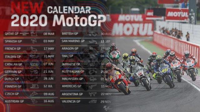 Virus Corona Menggila: Jadwal MotoGP Terbaru, Balap Jadi Perdana 3 Mei 2020