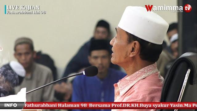 Buya Syakur Yasin: Kita Bisa Berdamai, Bekerjasama, dan Belajar dengan Non Muslim