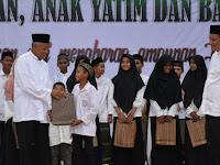 Bank Sleman Undang Ratusan Anak  Yatim Buka Bersama