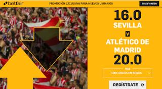 betfair supercuota liga Sevilla vs Atletico 2 noviembre 2019