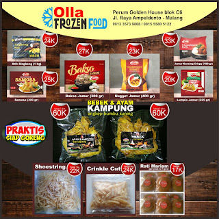 Frozen Food Murah di Malang