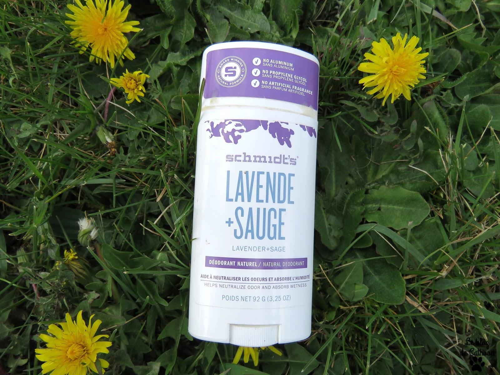 Lavende + Sauge Déodorant Schmidt's