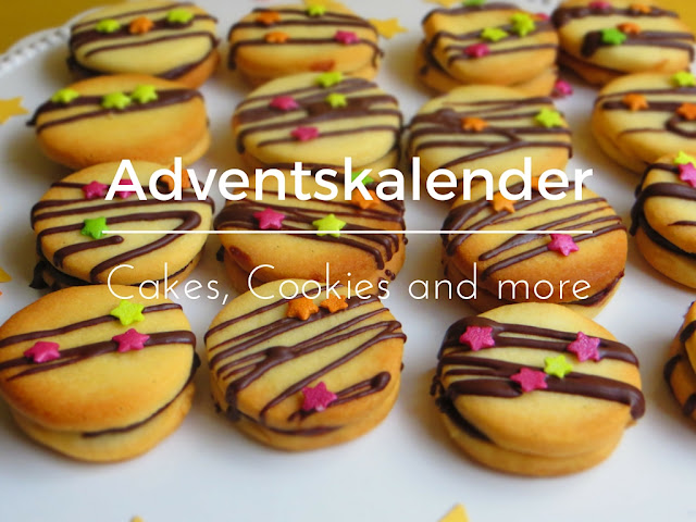 Adventskalender auf Cakes, Cookies and more