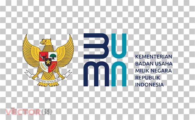Logo Kementerian BUMN Republik Indonesia (Baru 2020) - Download Vector File PNG (Portable Network Graphics)