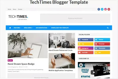 techtime-responsive-theme-template