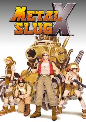 Capa do Metal Slug X