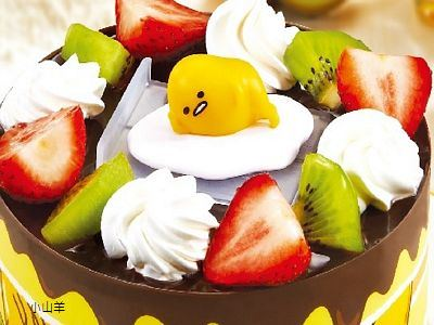 蛋黃哥公仔蛋糕