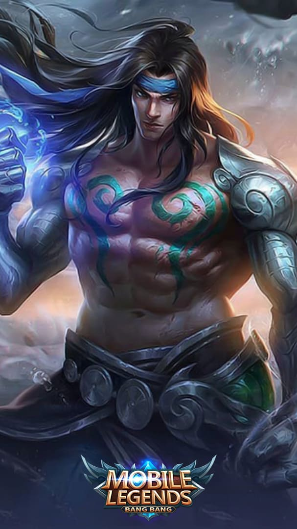 Wallpaper Badang Tribal Warrior Skin Mobile Legends HD for Android and iOS