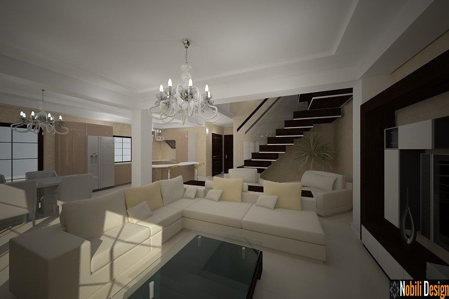 Design interior living case moderne bucuresti design for Interior design 7