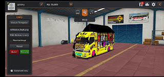 Download Mod Bussid Truck canter madura asyik