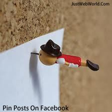 Pin Post On Facebook