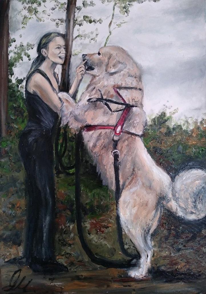 Milena Olesinska - New Paintings