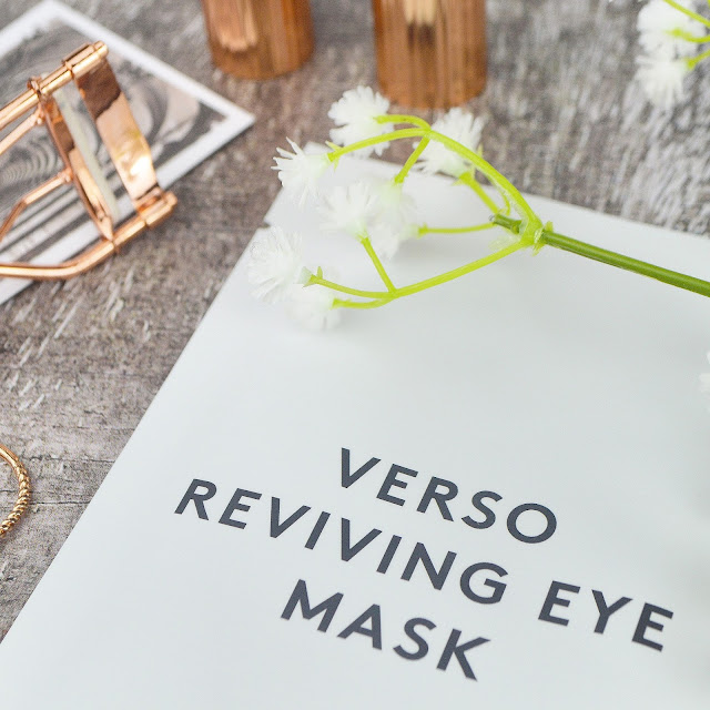 Verso Skincare Reviving Eye Masks Review Lovelaughslipstick Blog