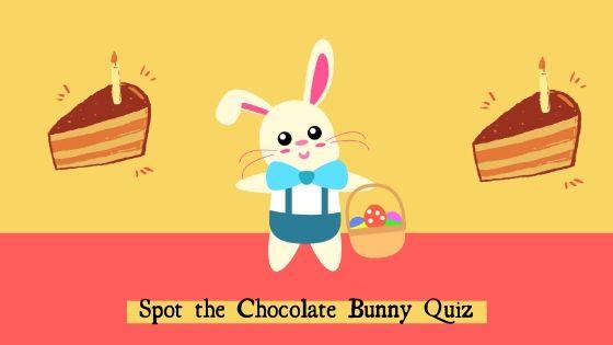 Spot the Chocolate Bunny Quiz Answers V1_V2