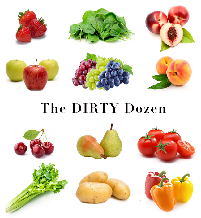 EWG The Dirty Dozen, How to Remove Pesticides From Your Fruits and Vegetables