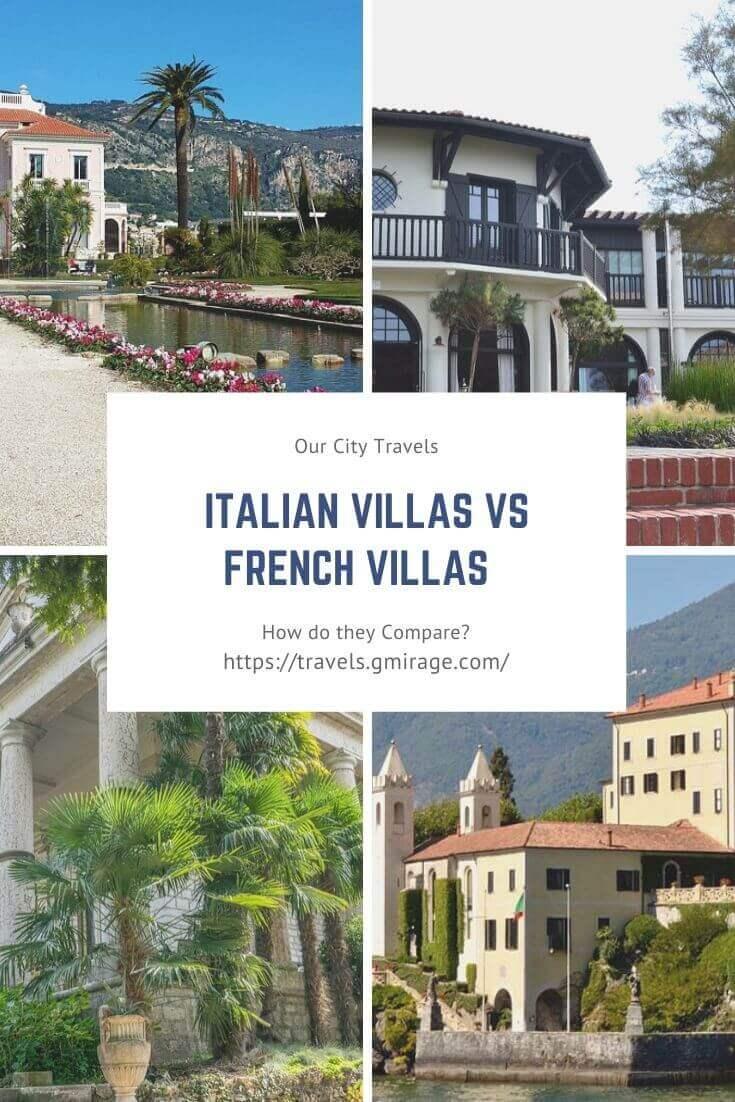 Italian Villas vs French Villas – How do they Compare? 1