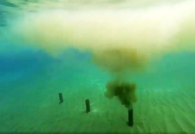 O enigma das fumarolas na praia do Porto Santo