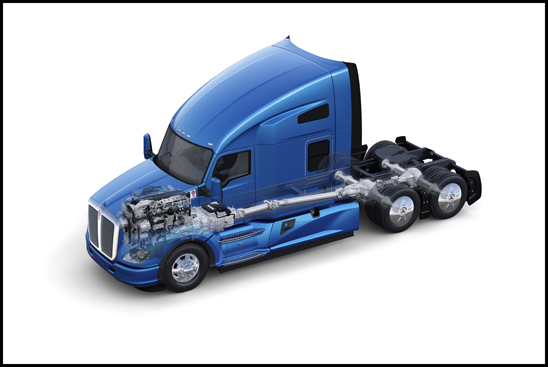 Kenworth T680 PACCAR Powertrain