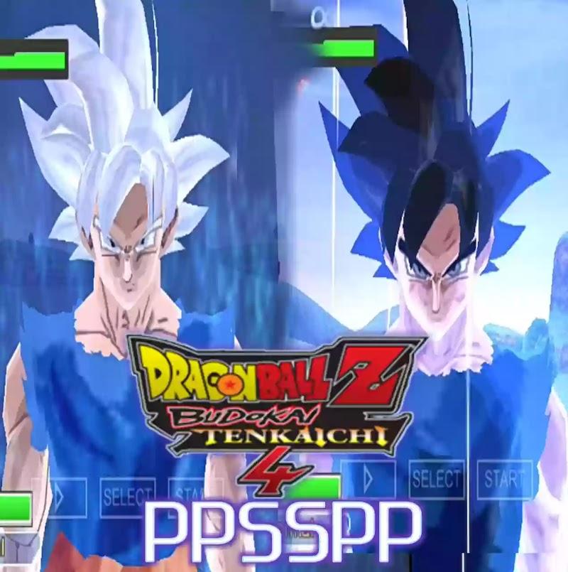 Dragon Ball Z Game Budokai Tenkaichi 4 PSP ISO Download