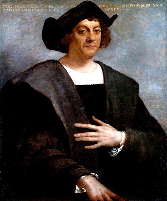 Retrato de Cristóvão Colombo, 1519