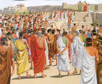 Democracia Ateniense: para poucos