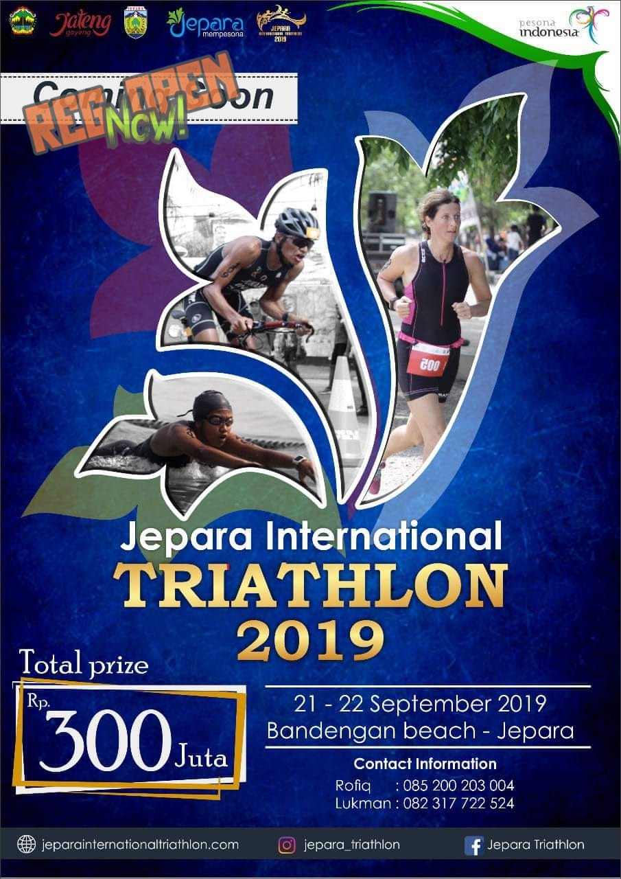 Jepara International Triathlon • 2019