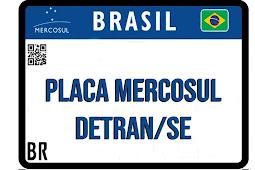 Implantação da Placa Mercosul é prorrogada em Sergipe