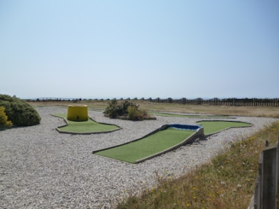 Crazy Golf course at Cafe Riva in Southbourne