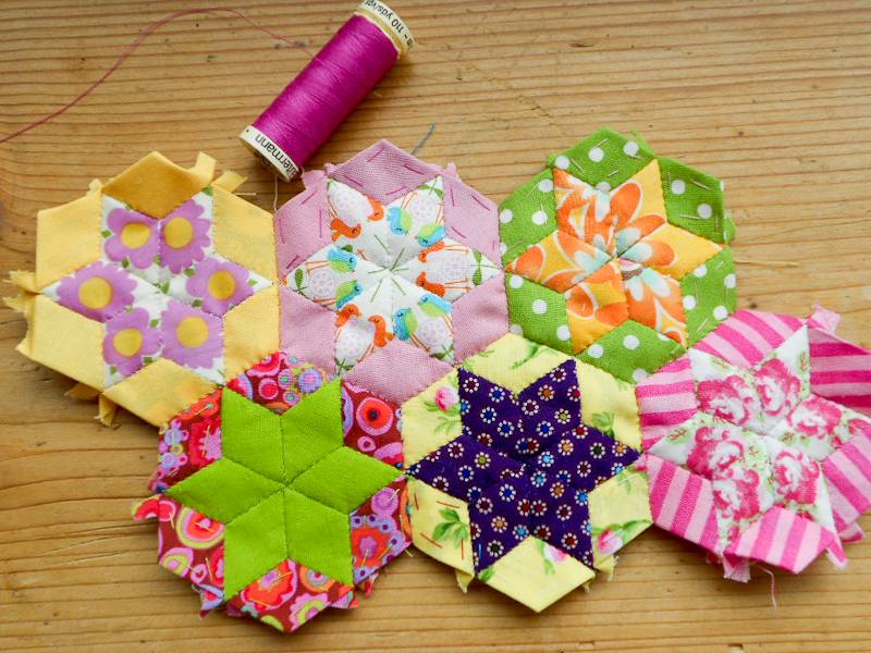 English paper piecing tutorial with cheating mybearpaw blog by english paper piecing tutorial with cheating maxwellsz